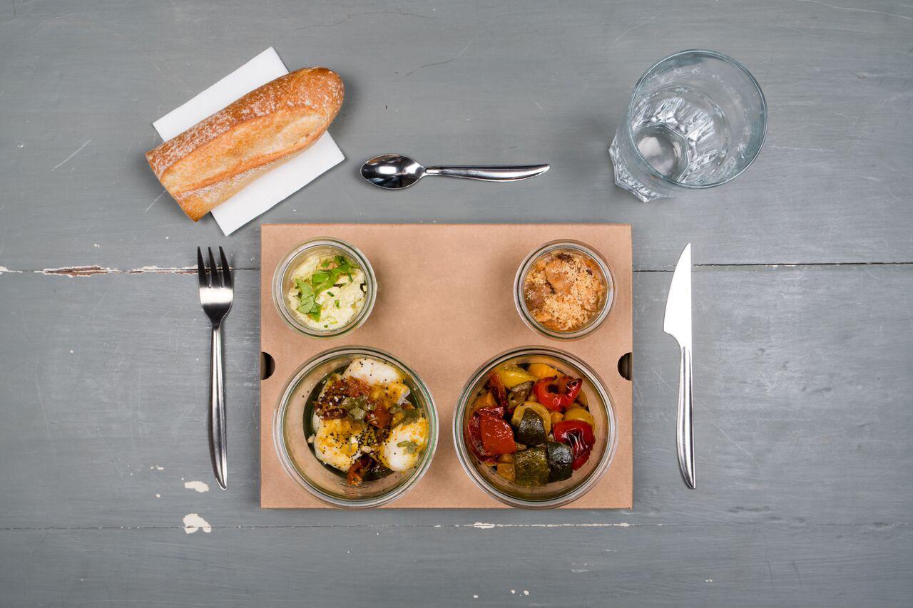 plateau repas chaud poisson 3 la boucle traiteur lyon et villeurbanne. Black Bedroom Furniture Sets. Home Design Ideas