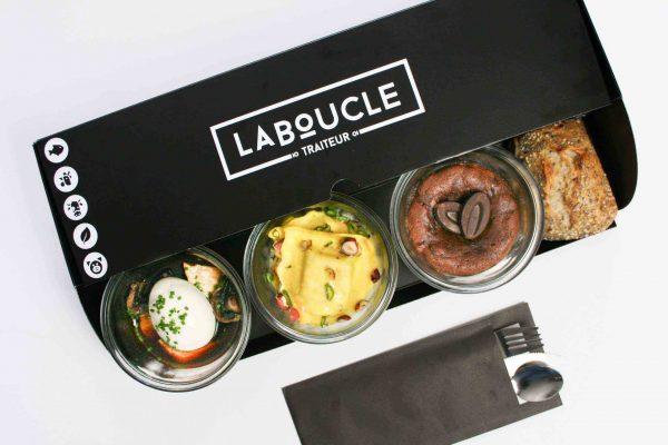 Plateau-repas végétarien chaud - Vichy Compressé